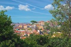 Ansicht nach Lissabon Lizenzfreie Stockfotos