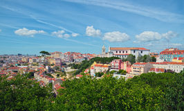 Ansicht nach Lissabon Stockfotos