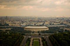 Ansicht nach Moskau Lizenzfreies Stockbild