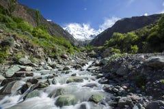 Ansicht Nanga Parbut von unterhalb, Pakistan lizenzfreie stockfotos