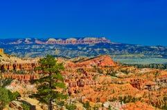 Ansicht am Nationalpark Bryce-Schlucht lizenzfreie stockbilder