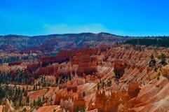 Ansicht am Nationalpark Bryce-Schlucht stockbild