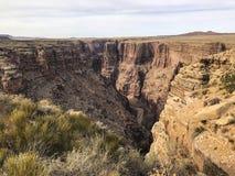 Ansicht Nationalparks Grand Canyon s, gelegen in nordwestlichem Arizona lizenzfreie stockbilder