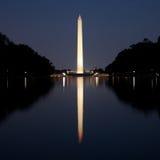 Ansicht Ost vom Lincoln-Denkmal Lizenzfreie Stockfotos