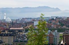 Ansicht Oviedo Stockbild