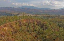 Ansicht Pai Canyons in Thailand Lizenzfreies Stockbild