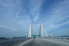 Ansicht 2. Penang-Brücke Lizenzfreie Stockbilder