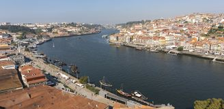 Ansicht Porto Portugal cityscape stockfotografie