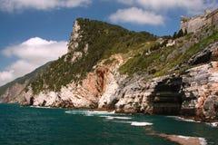 Ansicht in Portovenere, Italien Stockfotografie