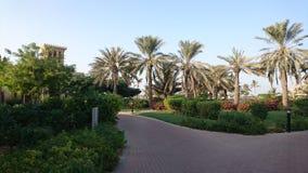 Ansicht in Ras Al Khaimah Stockbild