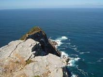 Ansicht in Richtung zu Kapstadt vom Umhang-Punkt, SüdAfri Stockfotos