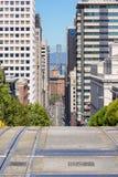 Ansicht San Franciscos Stockfoto
