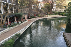 Ansicht Sans Antonio Riverwalk Lizenzfreie Stockfotos