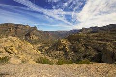 Schöne Apache-Spur, einer der szenischsten Antriebe in USA Stockfoto