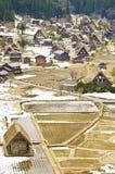 Ansicht in shirakawago lizenzfreie stockfotografie