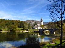 Ansicht in Slowenien Stockfoto