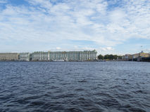 Ansicht St Petersburg, Russland am 9. September 2016 des Winter-Palastes in St Petersburg, Russland Stockfotos