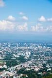 Ansicht-Stadtlandschaft - Chiang Mai, Thailand Stockfoto