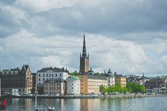 Ansicht Stocholm (Gamla Stan) stockfotografie