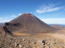 Stratovolcano Ngauruhoe Stockbilder