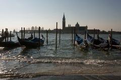 Ansicht in Venedig stockfotos
