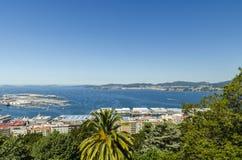 Ansicht Vigo Stockfotos