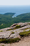 Ansicht vom Acadia-Nationalpark in Maine, USA Stockbilder