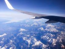 Ansicht vom airplaine Lizenzfreies Stockfoto