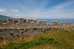 Platamonas Schloss Stockfotos