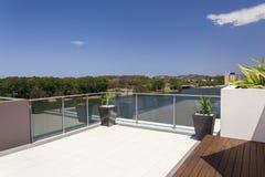 Ansicht vom Balkon Lizenzfreie Stockfotografie