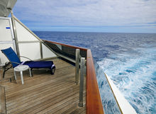Ansicht vom Balkon Lizenzfreie Stockfotos