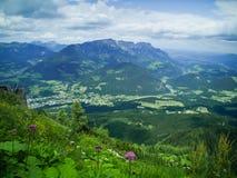 Ansicht vom Berg Stockfoto