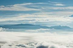 Ansicht vom Berg Lizenzfreie Stockfotos