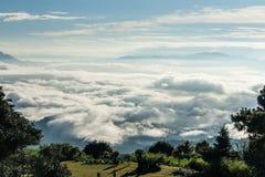 Ansicht vom Berg Lizenzfreie Stockbilder