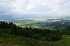 Ansicht vom Berg Lizenzfreies Stockfoto
