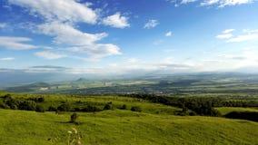 Ansicht vom Berg Stockbild