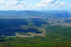 Ansicht vom Berg Boyka Stockfoto