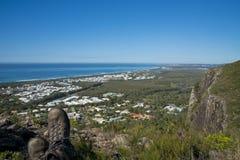 Ansicht vom Berg Coolum Stockfotografie