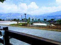 Ansicht vom Berg der Libanon stockbilder
