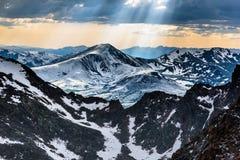 Ansicht vom Berg Evans Lizenzfreie Stockfotografie