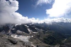 Ansicht vom Berg Titlis Lizenzfreies Stockfoto