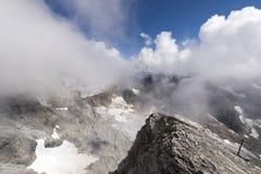 Ansicht vom Berg Titlis Stockfotos