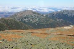 Ansicht vom Berg Washington stockbilder