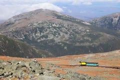 Ansicht vom Berg Washington lizenzfreie stockfotografie