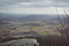 Ansicht vom Berggipfel Lizenzfreies Stockbild