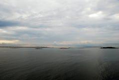 Ansicht vom Boot Stockfotografie