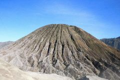 Ansicht vom Bromo-Vulkan stockfoto