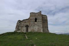 Ansicht vom bulgarischen Schloss und von den Umgebungen Stockfotos
