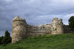 Ansicht vom bulgarischen Schloss und von den Umgebungen Lizenzfreies Stockfoto