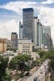 Ansicht vom Chao Phraya Fluss Lizenzfreie Stockbilder